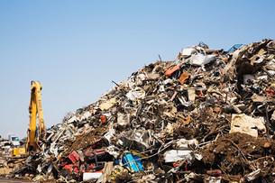 Scrap heapの写真素材 [FYI03473490]