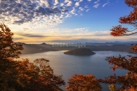 十和田湖 日本 青森県 十和田市の写真素材 [FYI03475216]