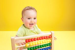 Baby boy,portraitの写真素材 [FYI03475382]