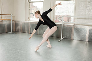 Ballerina in poseの写真素材 [FYI03476909]