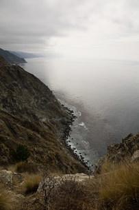 Highway 1, near Big Sur, California, USAの写真素材 [FYI03477525]