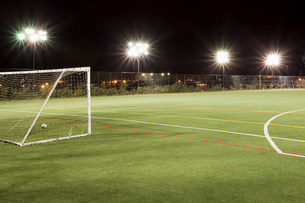 Football pitchの写真素材 [FYI03477680]
