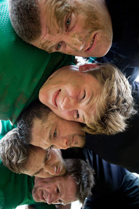 Rugby scrumの写真素材 [FYI03478150]