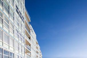 High rise apartmentsの写真素材 [FYI03480334]