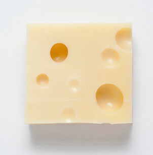 Chunk of cheeseの写真素材 [FYI03482982]