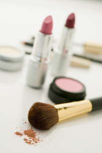 Make up with blushの写真素材 [FYI03488650]