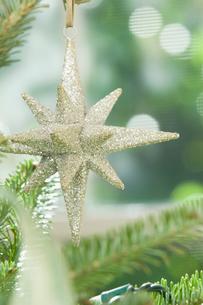 Star Christmas ornamentの写真素材 [FYI03488659]