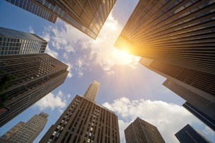 Skyscrapers, New York, New York State, USAの写真素材 [FYI03506256]