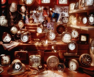 Assortment of clocksの写真素材 [FYI03506340]