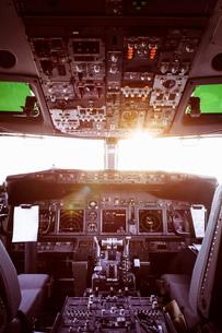 Aeroplane cockpitの写真素材 [FYI03508242]