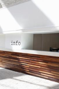Information deskの写真素材 [FYI03509059]