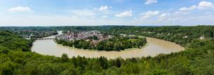 Panoramic view of Wasserberg, Bavaria, Germanyの写真素材 [FYI03509377]