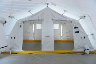 Emergency Response Team control tentの写真素材 [FYI03513632]