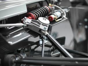 Close up of supercar suspensionの写真素材 [FYI03515330]