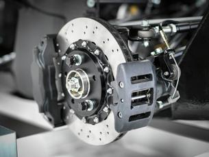 Supercar brake detail, close upの写真素材 [FYI03515331]