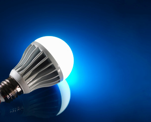 Energy saving LED bulbの写真素材 [FYI03515473]
