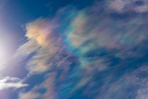彩雲の写真素材 [FYI03518661]