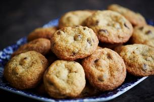 Homemade cookies, close upの写真素材 [FYI03523389]