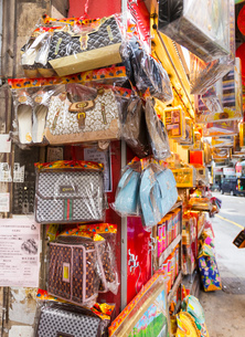 Cardboard handbags for religious offerings at buddhist funeralsの写真素材 [FYI03524969]