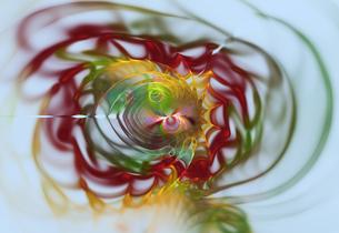 Fractal flames. Image courtesy of Stanley Weddingtonの写真素材 [FYI03525972]