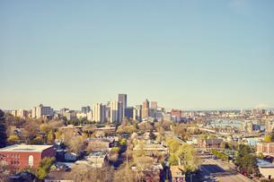 Cityscape, Portland, Oregon, USAの写真素材 [FYI03527827]