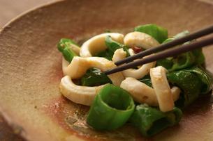 Asian dish and chopsticksの写真素材 [FYI03527831]