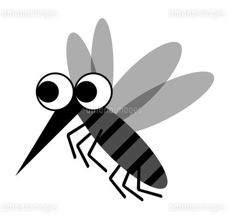 蚊のキャラクターのイラスト素材 [FYI03530821]
