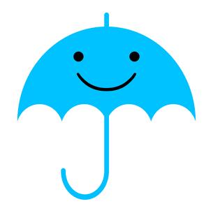 傘のキャラクターのイラスト素材 [FYI03530826]
