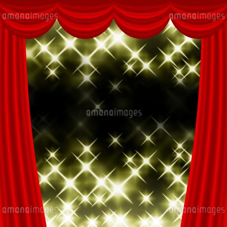 ステージカーテンのイラスト素材 [FYI03531106]