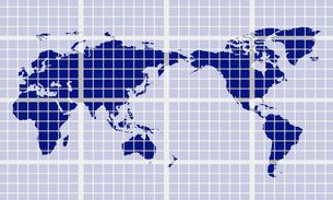 世界地図のイラスト素材 [FYI03531144]