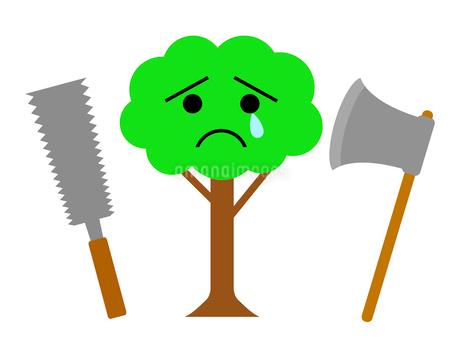 森林伐採のイメージのイラスト素材 [FYI03531460]