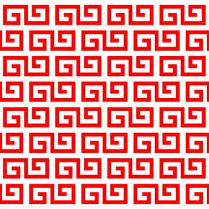 中華マークの背景のイラスト素材 [FYI03531482]