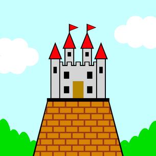 お城のイラスト素材 [FYI03531485]