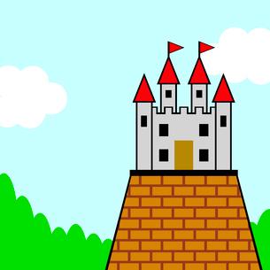 お城のイラスト素材 [FYI03533107]