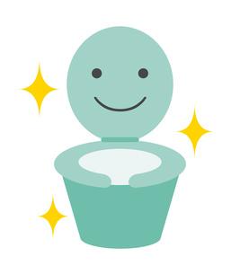 きれいなトイレのイラスト素材 [FYI03533444]