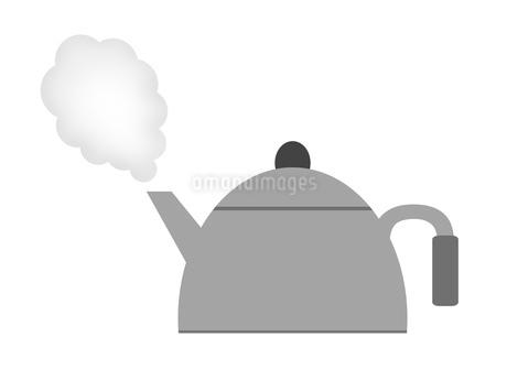 沸騰するヤカンのイラスト素材 [FYI03533719]