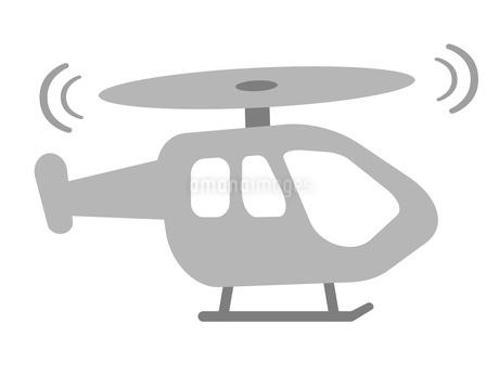 ヘリコプターのイラスト素材 [FYI03533750]