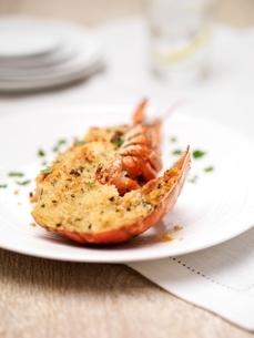 Lobster thermidorの写真素材 [FYI03537363]
