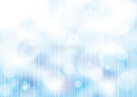 ボケた水玉の背景 青のイラスト素材 [FYI03550276]