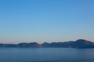 Ocean at dawn, Turkeyの写真素材 [FYI03552648]