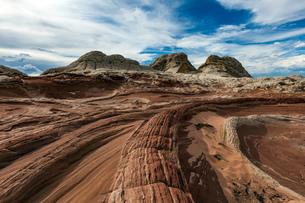 White Pocket, Paria Plateau, Arizona, USAの写真素材 [FYI03557646]