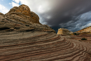 White Pocket, Paria Plateau, Arizona, USAの写真素材 [FYI03557649]