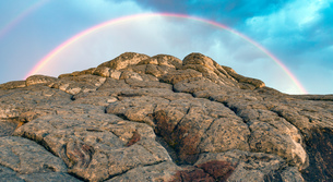 White Pocket, Paria Plateau, Arizona, USAの写真素材 [FYI03557651]