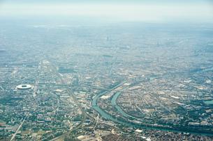 Aerial view of Paris, Franceの写真素材 [FYI03561309]
