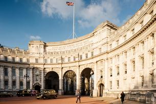 Admiralty Arch, London, UKの写真素材 [FYI03562065]