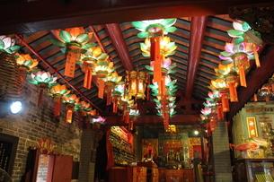 香港の北帝廟の写真素材 [FYI03564873]