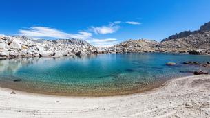 Onion Valley, Sierra Nevada mountain range, California, USAの写真素材 [FYI03566593]