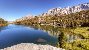 Onion Valley, Sierra Nevada mountain range, California, USAの写真素材 [FYI03566595]