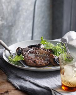 Steak Au Poivreの写真素材 [FYI03567048]
