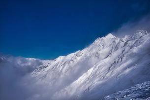 西穂高岳独標前 日本 長野県 高山市の写真素材 [FYI03580461]